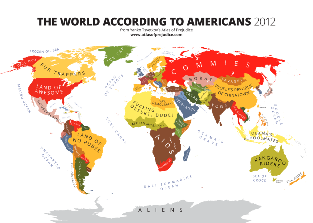 The World According to Americans Stereotyping